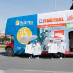 Finstral e Baltera sul London Bus